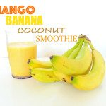 Mango-banana-coconut-smoothie