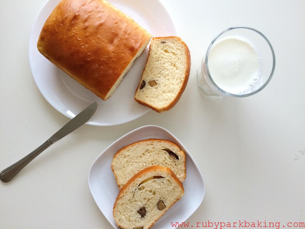 Chesnut Loaf Bread on rubyparkbaking.com