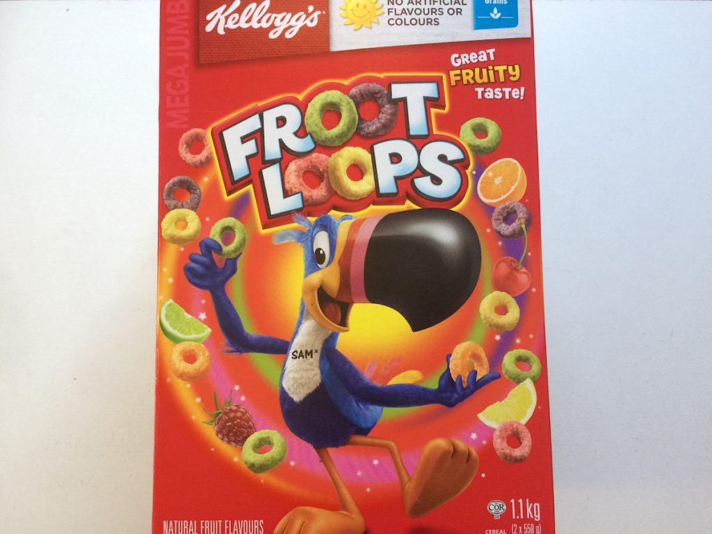 【コストコ】人気のカラフルシリアル Froot Loops (フルーツループ)がおすすめ【レビュー】