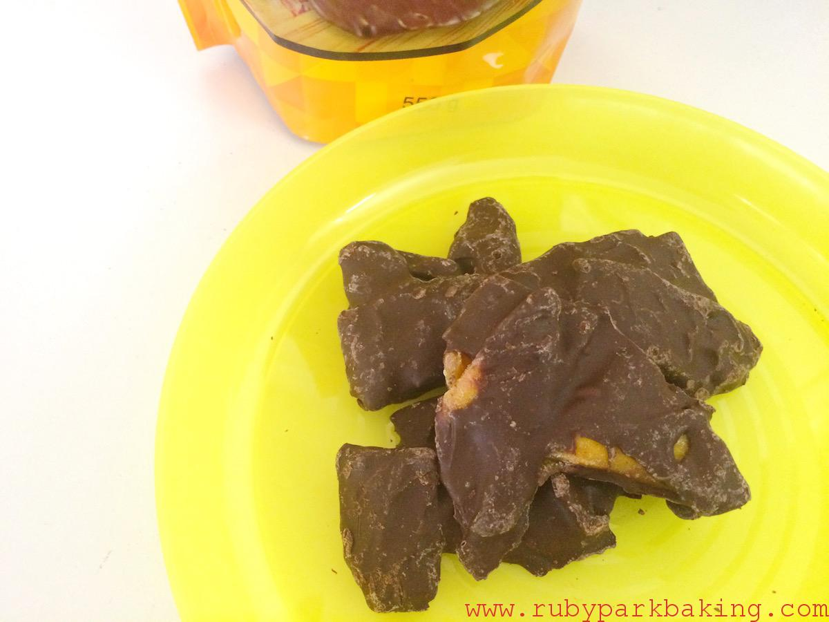 Dark chocolate covered mangoes, Costco Toronto