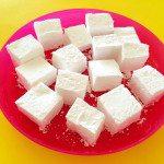 手作りバニラマシュマロのレシピ♪卵白なしで簡単に作れます!