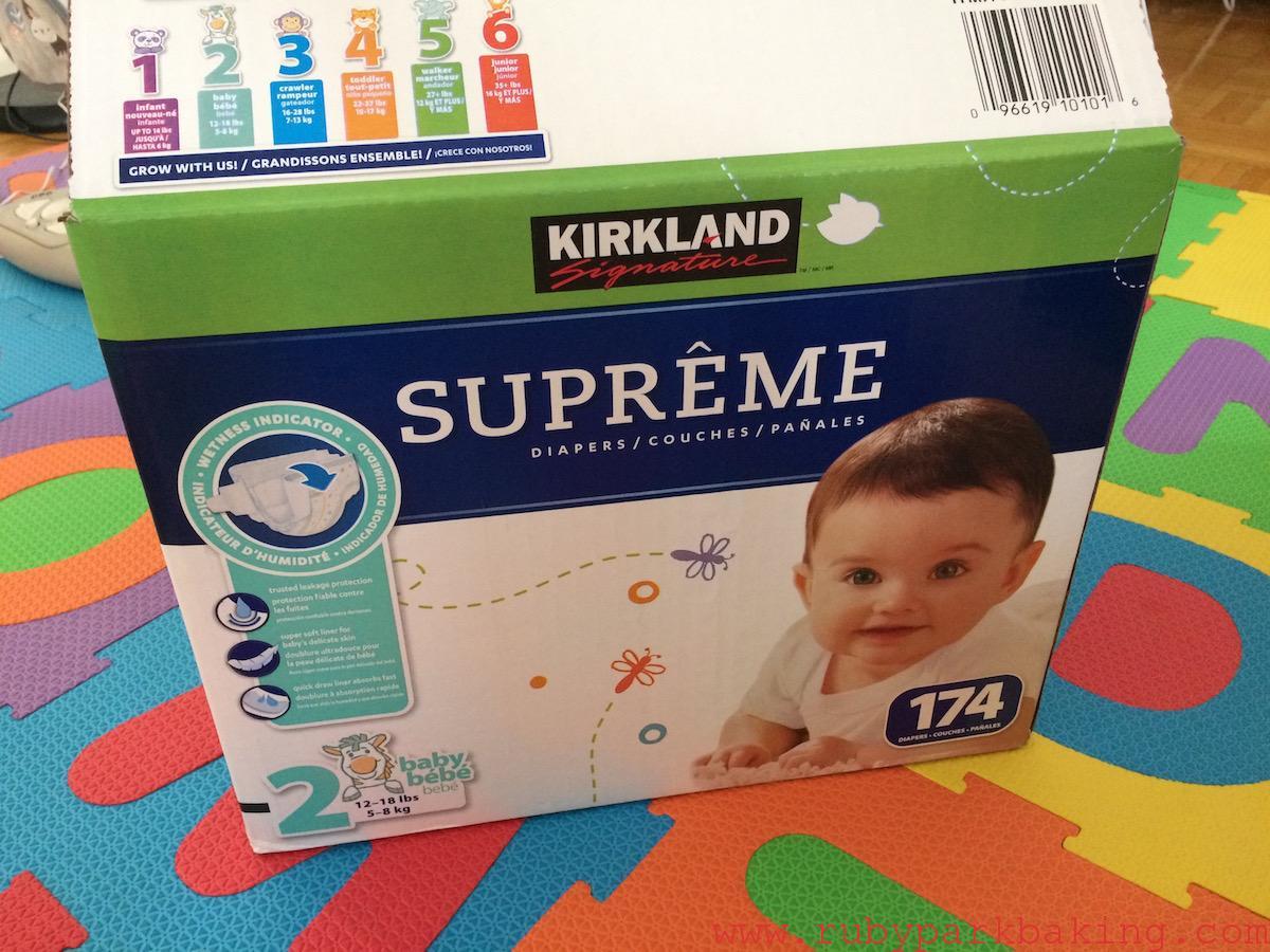 Costco(コストコ)で買ったもの!カークランドの紙おむつが大容量で安い♪
