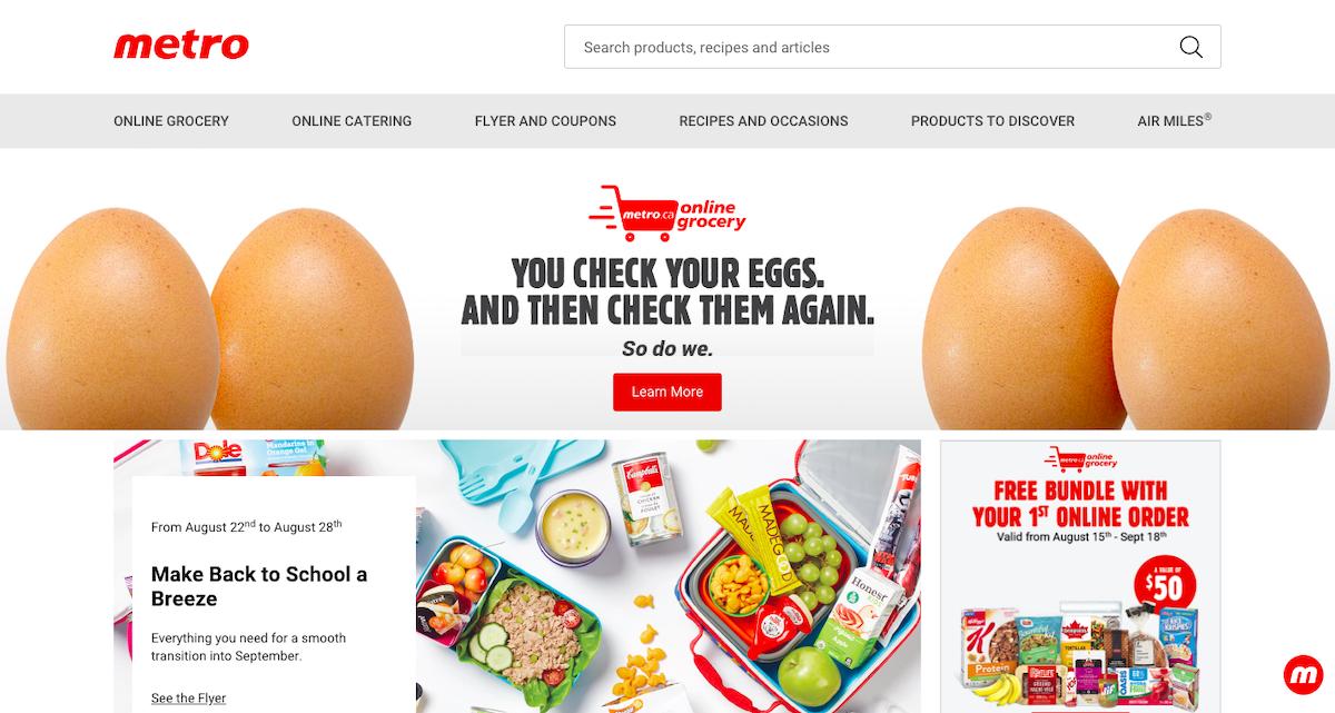 カナダ スーパーマーケット 無料 オンライン ショッピング 買い物 お得 節約
