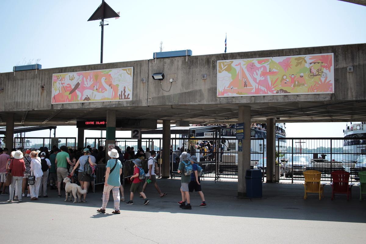 トロントアイランド フェリー Jack Layton ferry terminal