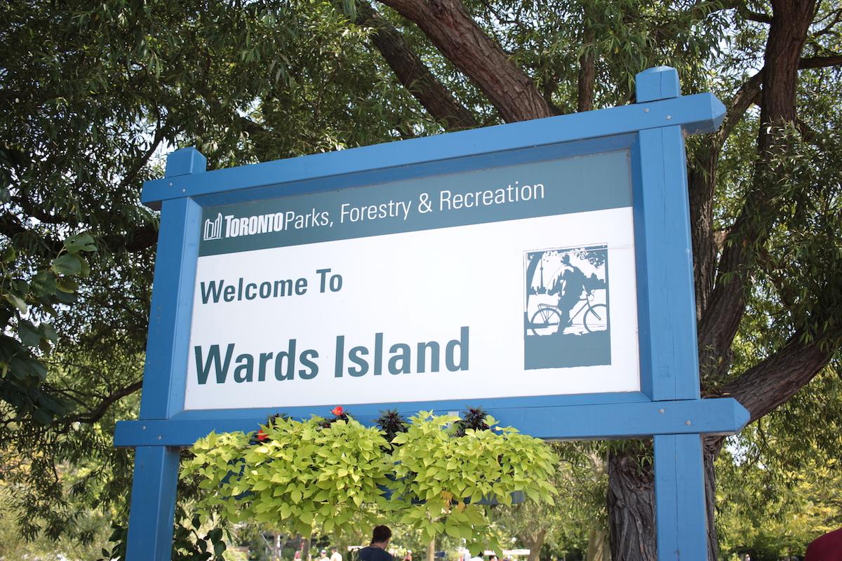 トロントアイランド ワーズアイランド Wards Island