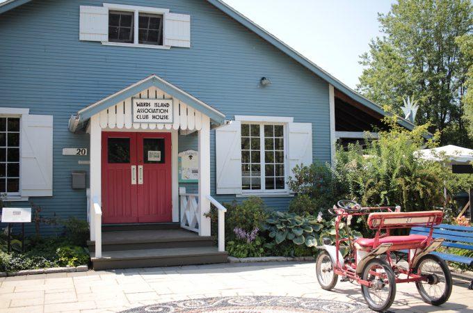 トロントアイランド カフェ Island cafe